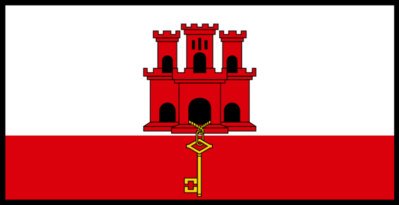 File:Flag of Gibraltar with border.png