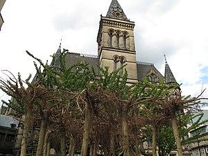 Auto-destructive art - Gustav Metzger's Flailing Trees in Manchester International Festival 2009
