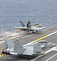 Flickr - Official U.S. Navy Imagery - An Aircraft launches from the aircraft carrier USS Nimitz..jpg