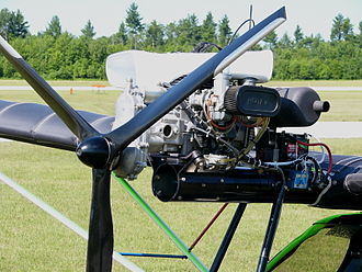 Rotax 503 - A Rotax 503 mounted on a Flightstar II ultralight