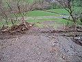Flood debris near Llwyn-y-grug - geograph.org.uk - 327922.jpg