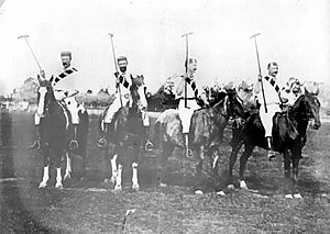 Flores Athletic Club - The Flores AC polo team of 1899.