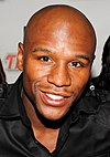 Floyd Mayweather Jr at a promotional event in 2010