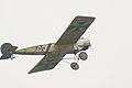 Fokker EIII Oblt Schildknecht Flyby 01 Dawn Patrol NMUSAF 26Sept09 (14599278872).jpg
