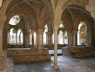 Fontfroide Abbey - Fontfroide Abbey: chapter house