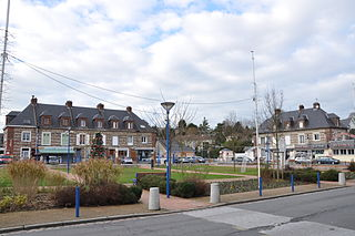Fontaine-la-Mallet Commune in Normandy, France