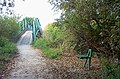 Footbridge in Attenborough Nature Reserve - geograph.org.uk - 18243.jpg