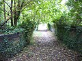 Footpath over disused railway line - geograph.org.uk - 996035.jpg