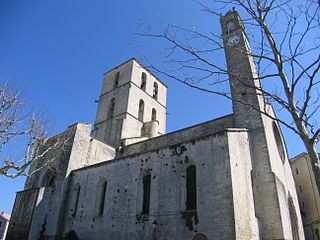 Forcalquier Cathedral cathedral located in Alpes-de-Haute-Provence, in France