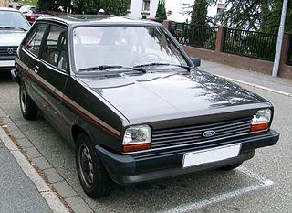 Ford Fiesta (first generation) supermini car, first generation of the Ford Fiesta