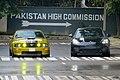 Ford Mustang and Porsche Panamera, Bangladesh. (36412167400).jpg