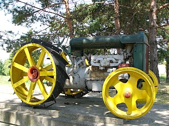 Fordson - Monument to Fordson model F The Czech Republic