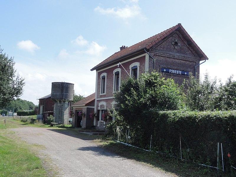 Foreste (Aisne) ancienne gare