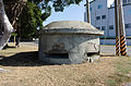 Former Bunker nearby No.4 East Pier of Zuoying Naval Base Front View 20141123.jpg