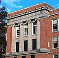 Former Washington HS (Portland, Oregon) in 2013 - entablature and top two floors.jpg