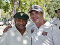 Former West Indian Test Captain Alvin Kallicharran with Napa Valley CC member Jack Evanko.JPG