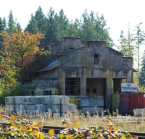 Tonquin, Oregon - Image: Former railway station front Tonquin, Oregon