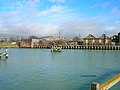 Former swing bridge over the river Ouse, Newhaven - geograph.org.uk - 122203.jpg