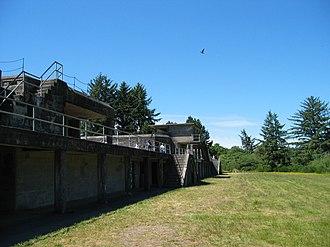 Fort Stevens (Oregon) - Image: Fort Stevens Oregon