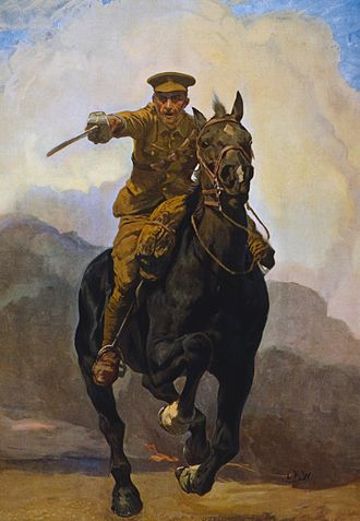 Lucy Kemp-Welch - Artwork for Forward! Forward to Victory Enlist Now (1914)