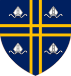 Foster of Bishop Auckland Escutcheon.png