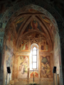 Foto abside presbiterio chiesetta oratorio sant'Antonio abate a Pescia.png