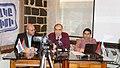 Founding Parliament presenting Civil Contract concept. March 24, 2015. From left to right Varuzhan Avetisyan, Garegin Chugaszyan and Hayk Grigoryan.jpg