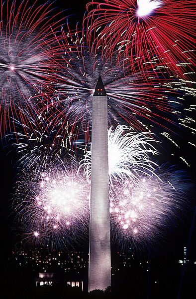 File:Fourth of July fireworks behind the Washington Monument, 1986.jpg