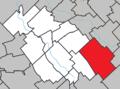 Frampton Quebec location diagram.png