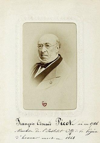 François-Édouard Picot - François-Edouard Picot, ca.1865
