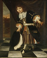 Portrait of a boy, called 'The son of Admiral van Nes'