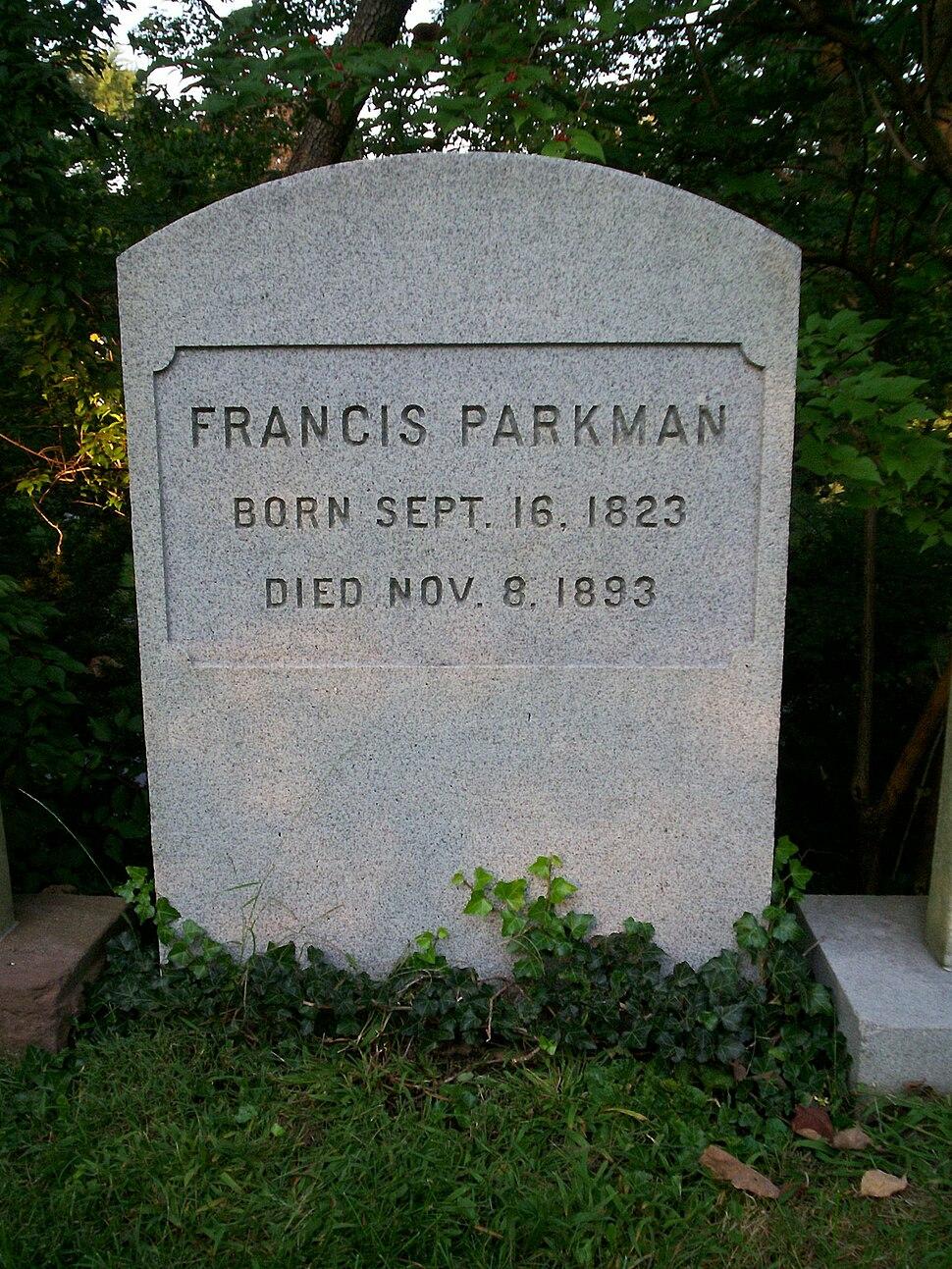 FrancisParkmanGrave