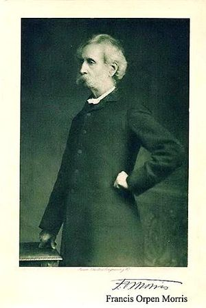 Francis Orpen Morris - Image: Francis Orpen Morris