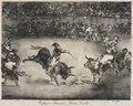Francisco de Goya - The Bulls of Bordeaux- The Famous American, Mariano Ceballos - 1949.2 - Cleveland Museum of Art.tif