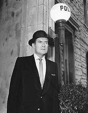 Meet McGraw - Frank Lovejoy as McGraw, 1957.