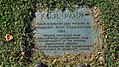 Franklin Delano Roosevelt Park Plaque (1984) - Philadelphia PA.jpg