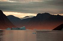 Franz Josef Fjord at sunshine.jpg