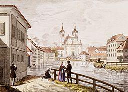 Franz Kurz zum Thurn und Goldenstein - Ljubljana, frančiškanska cerkev Marijinega oznanjenja.jpg
