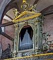 Frari (Venice) - Coro dei Frati- Left organ by Giovanni Battista Piaggia.jpg