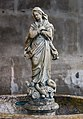 Frari (Venice) nave left - Stoup of the Immaculate Conception.jpg