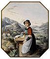Frau in steirischer Tracht c1840.jpg