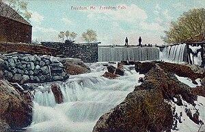 Freedom, Maine - Freedom Falls c. 1907