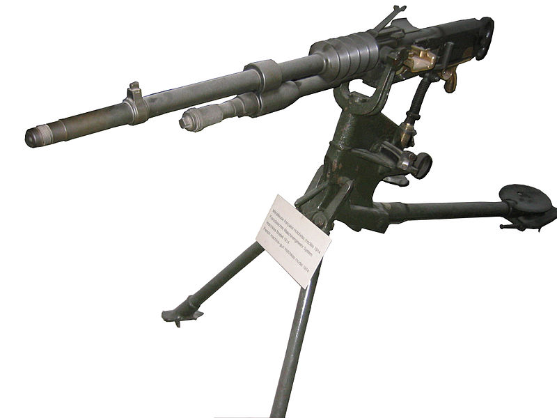 File:French machine-gun Hotchkiss model 1914.JPG ...