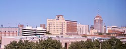 Downtown Fresno in January 2008