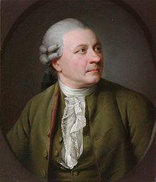 Friedrich Gottlieb Klopstock, Gemälde von Jens Juel, 1779 (Gleimhaus, Halberstadt) (Quelle: Wikimedia)