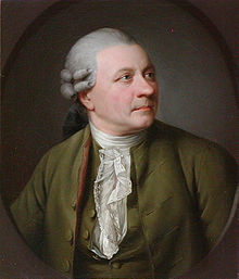Portrait of Friedrich Gottlieb Klopstock circa 1779 by Jens Juel (Source: Wikimedia)