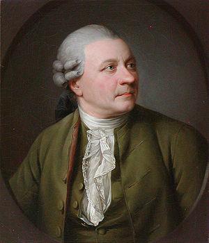 Friedrich Gottlieb Klopstock - Portrait of Friedrich Gottlieb Klopstock circa 1779 by Jens Juel