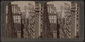 From Empire Building (n.) past Trinity Church steeple, up Broadway, New York, U. S. A., by Underwood & Underwood 2.png