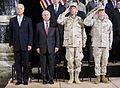 From left, U.S. Vice President Joe Biden, Secretary of Defense Robert M. Gates, Chairman of the Joint Chiefs of Staff Navy Adm. Mike Mullen and Marine Corps Gen. James N. Mattis, commander of U.S. Central 100901-F-DQ383-028.jpg