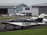 G-BHGY Piper Arrow 28R (30087333713).jpg